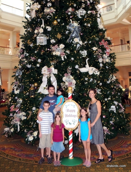 MH grand floridian christmas